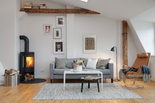 Casa decorada em estilo escandinavo 004