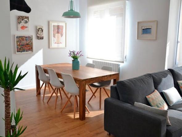 Casa decorada em estilo escandinavo 007