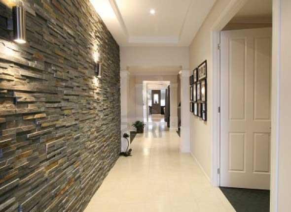 Decorar um ambiente com parede de pedra 003