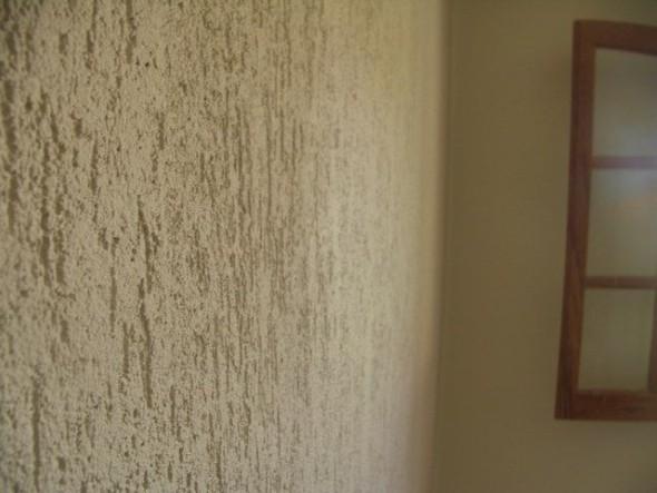 Grafiato, um revestimento charmoso e elegante para decorar sua casa.