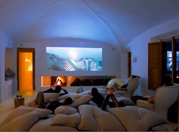 Espaço na casa para ver TV e assistir filmes 002
