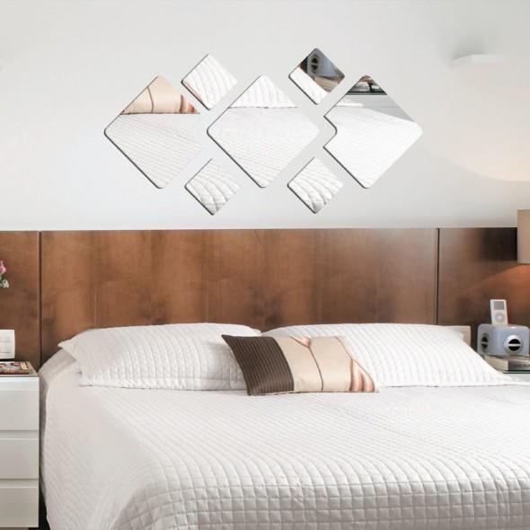 Espelhos decorativos para quartos 005