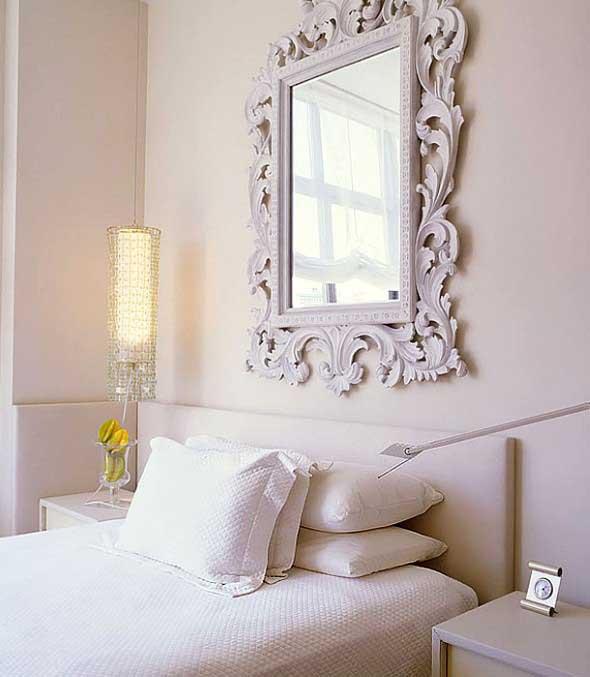 Espelhos decorativos para quartos 008