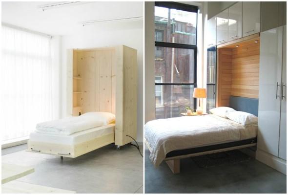 Modelos de cama escondida para casas e apartamentos 09 (Custom)