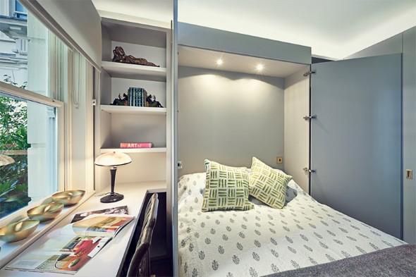 Modelos de cama escondida para casas e apartamentos 10 (Custom)