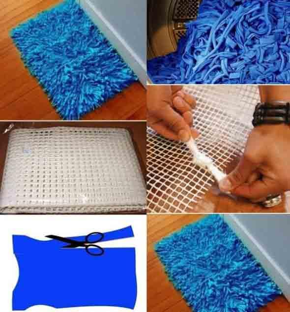 Como fazer tapete amarradinho 005