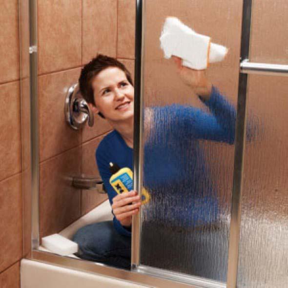 Como limpar o vidro do Box do banheiro 003