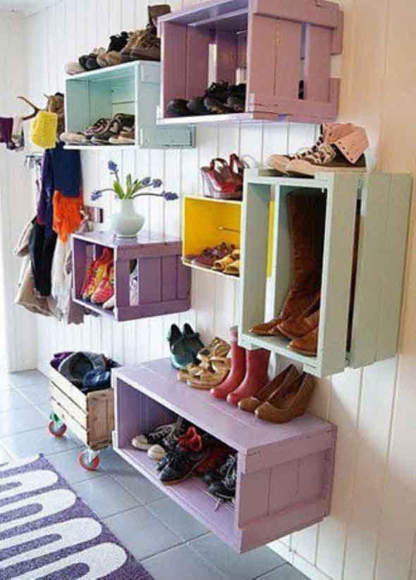 DIY - Estante para calçados 004