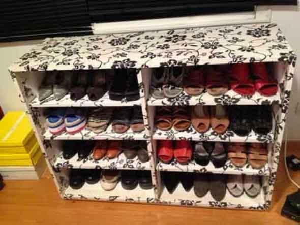 DIY - Estante para calçados 006
