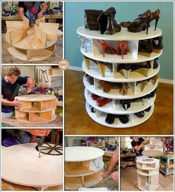 DIY - Estante para calçados 010