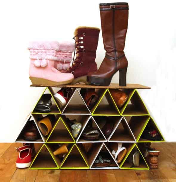 DIY - Estante para calçados 012