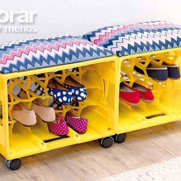 DIY - Estante para calçados 014