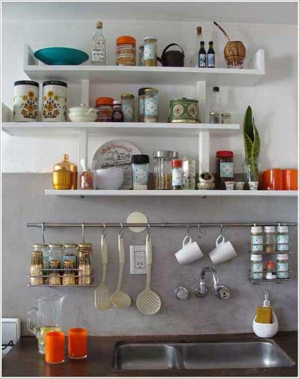Onde colocar prateleiras para organizar a casa 004