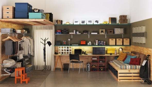 Onde colocar prateleiras para organizar a casa 012