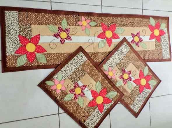 Patchwork na decoração de casa 012