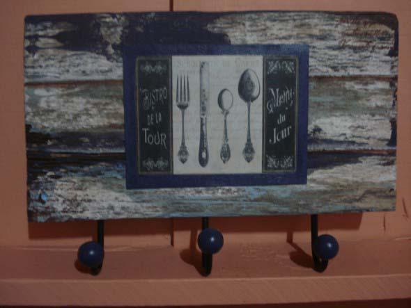 Porta panos de prato artesanal 010