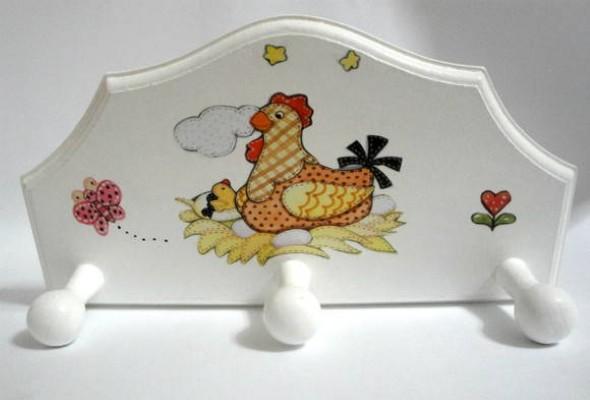 Porta panos de prato artesanal 012