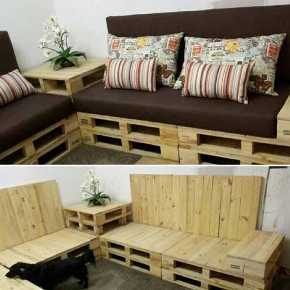 Como montar um sofá de paletes 012