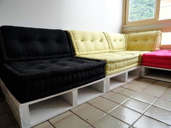 Como montar um sofá de paletes 013