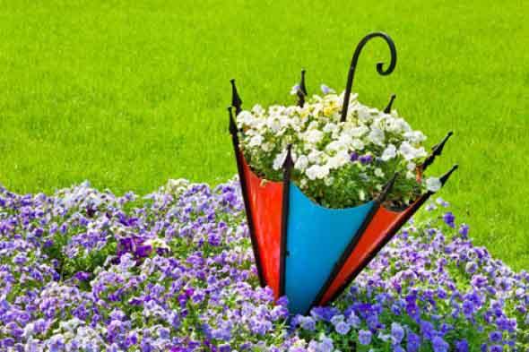 Guarda-chuvas na decoração 004