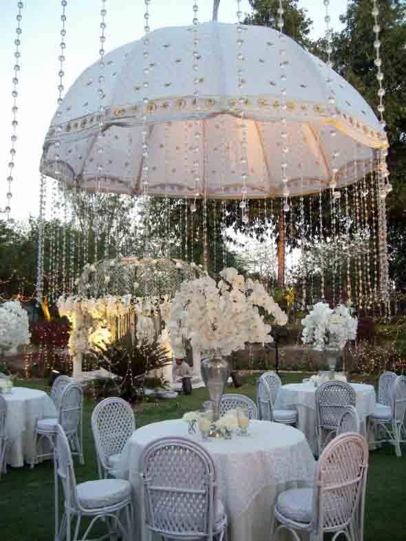 Guarda-chuvas na decoração 017