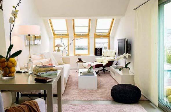 Ideias simples para decorar salas pequenas 004