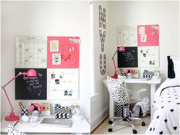 Painel de anotações Home Office 002