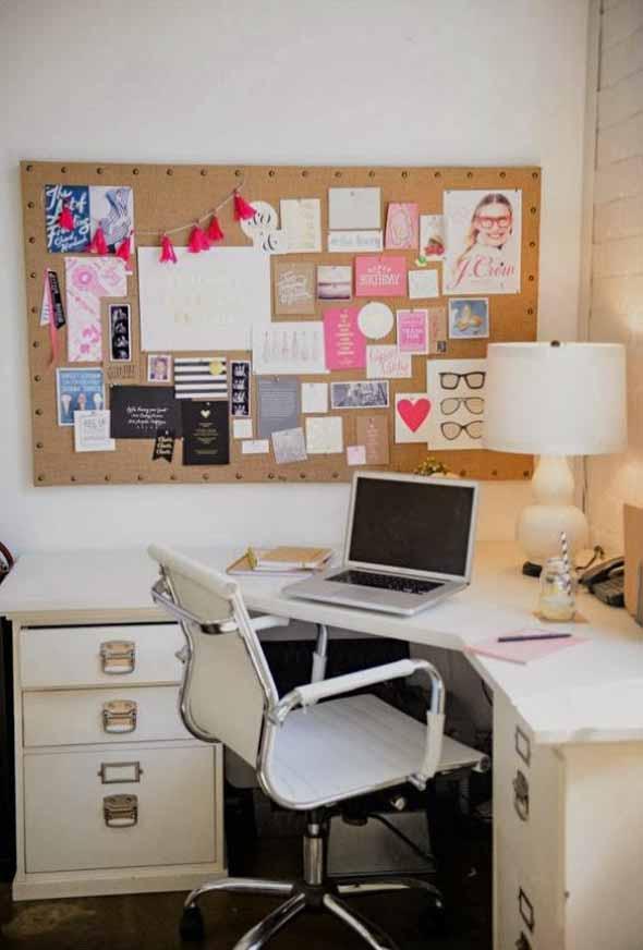 Painel de anotações Home Office 004