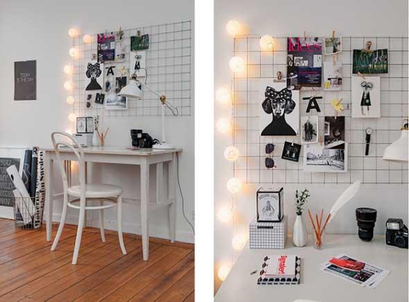 Painel de anotações Home Office 007