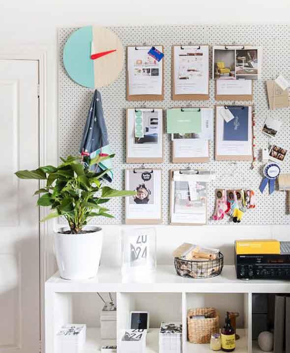Painel de anotações Home Office 008