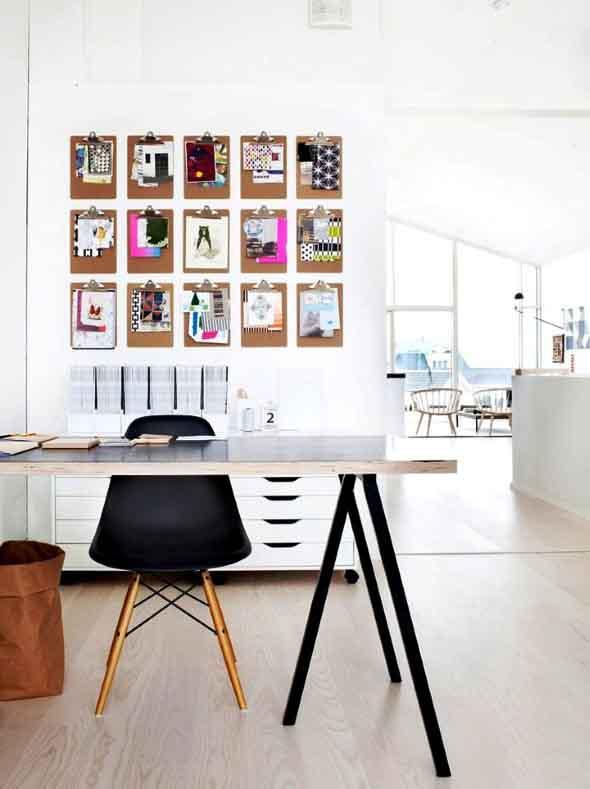 Painel de anotações Home Office 009