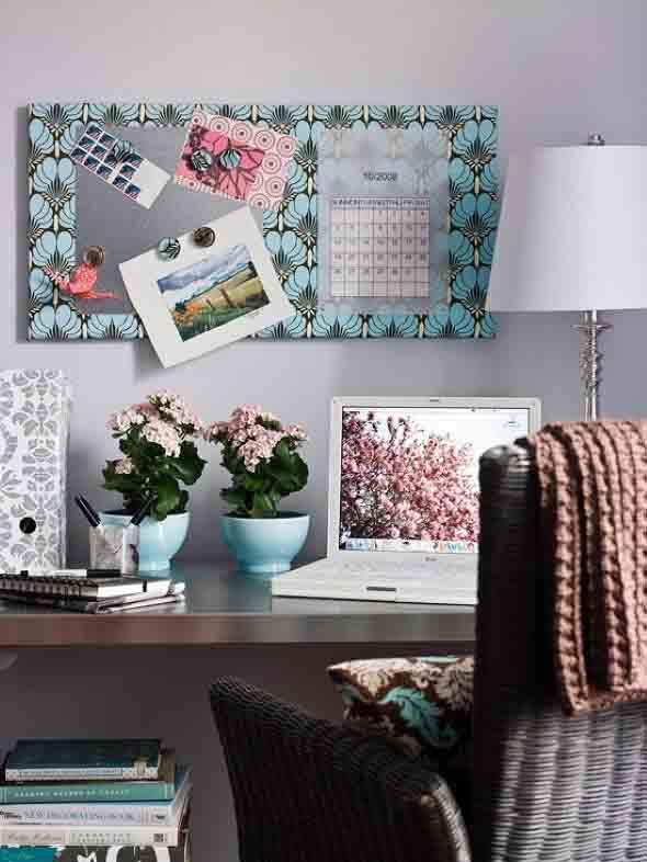 Painel de anotações Home Office 012