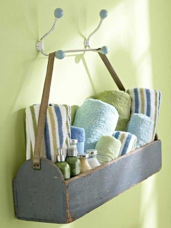 Saiba como ter em casa um prático porta toalhas 010