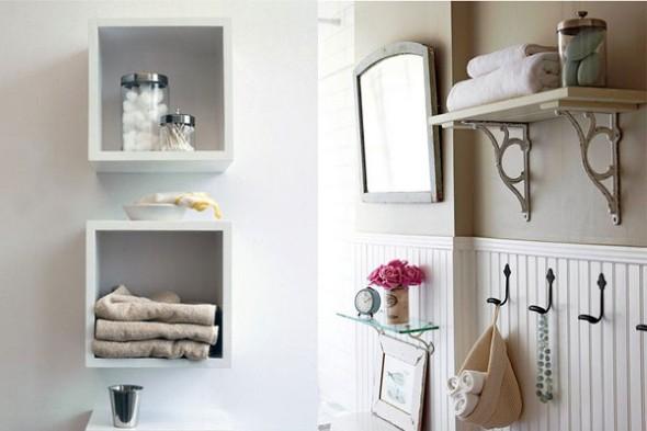 Soluções práticas para banheiros pequenos 006