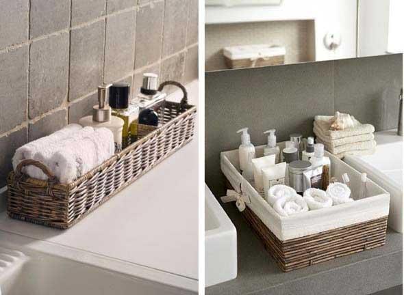 Soluções práticas para banheiros pequenos 016