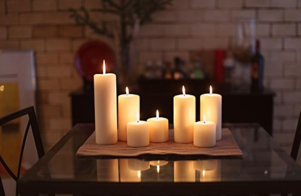 18 Maneiras de decorar com velas 002