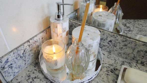 18 Maneiras de decorar com velas 017