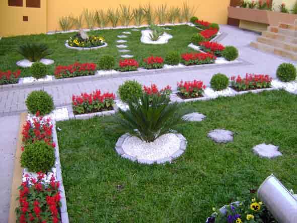 Canteiro de flores criativo para varanda e jardim 005