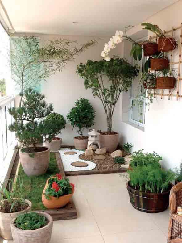 Canteiro de flores criativo para varanda e jardim 012