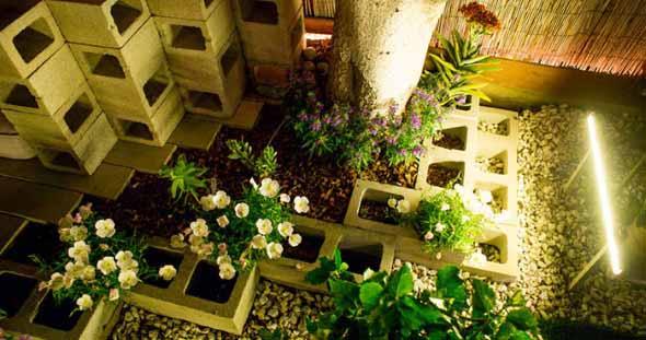 Canteiro de flores criativo para varanda e jardim 021