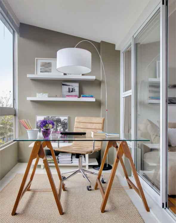 Mesa com cavaletes 008