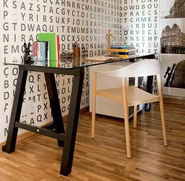 Mesa com cavaletes 022