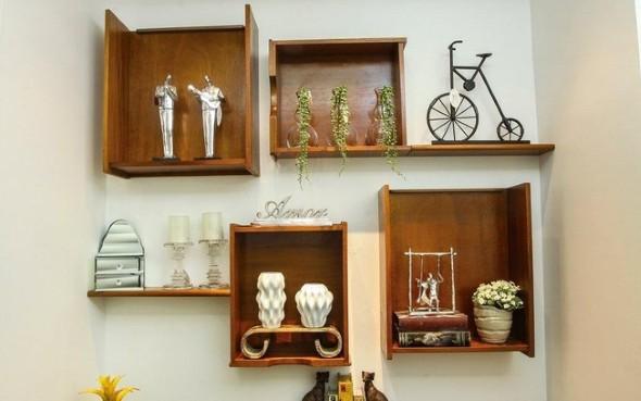 Transforme gavetas em nichos decorativos 001
