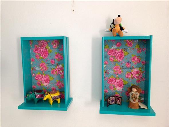 Transforme gavetas em nichos decorativos 012