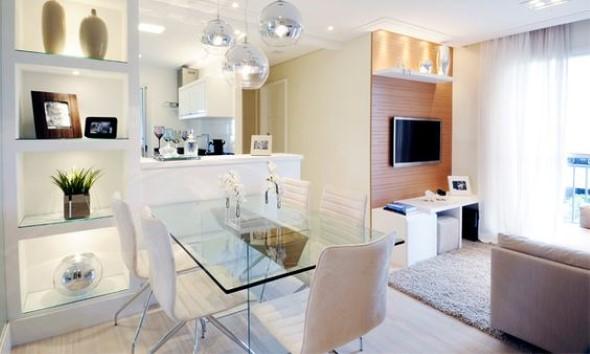 Apartamento pequeno com ambientes integrados 002