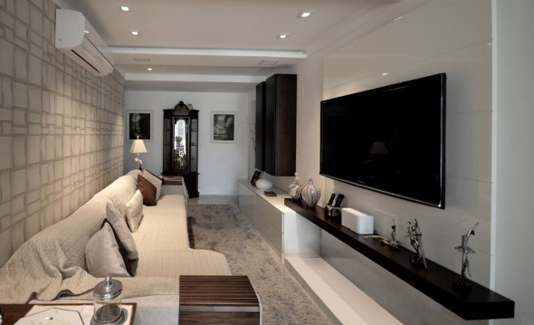 Apartamento pequeno com ambientes integrados 004