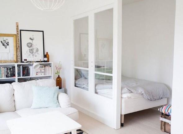 Apartamento pequeno com ambientes integrados 009
