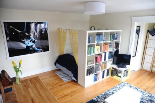 Apartamento pequeno com ambientes integrados 011