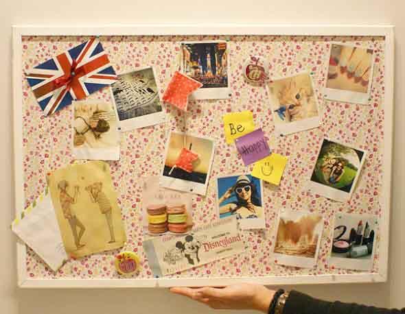 DIY - Aprenda a montar um painel de fotos 003