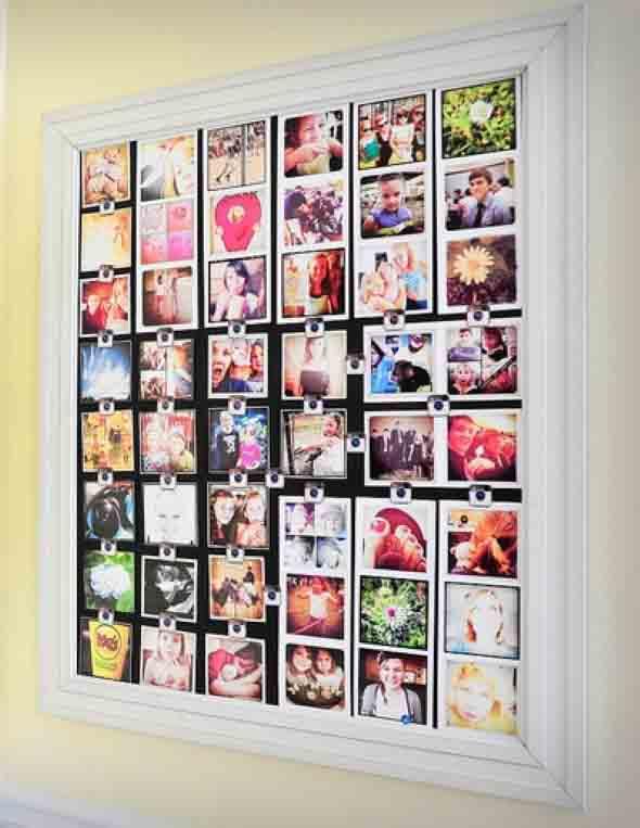 DIY - Aprenda a montar um painel de fotos 006